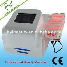 BYI-L008 high quality lipo laser vibrating slimming machine ems with heat pad