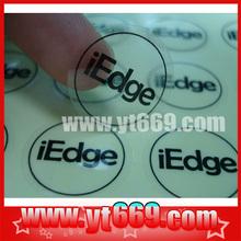 Easy Peel Off Transparent Sticker