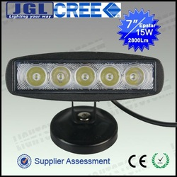 15W led work lamp for tractor, Spot/Flood beam led work light, auto off road led machine work light