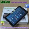 dual sim 3g tablette/smart android tablette/mapan dual sim phone tablette