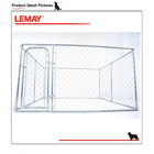 2014 new wholesale chain link rolling pet cage with removable tray