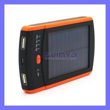 6000mah Solar Sun Charger Mobile External Battery Charger