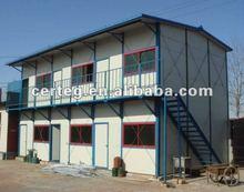 Due - piani di fabbricato colore acciaio casa mobile