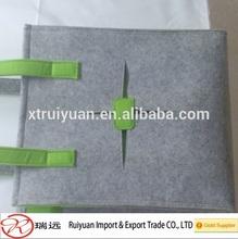 Reusable felt bag with handle high quality