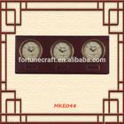 Antique metal table clock decorative wall clock