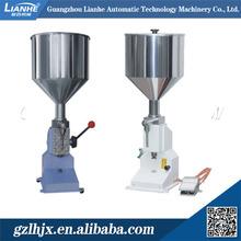 Pneumatic lotion cream filling machine, body creams filling machine, semi-auto cream filling machine