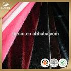 Channeled mink faux fur fabric for fashion garments, luxurious faux fur blanket