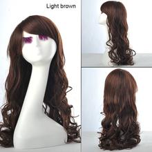 100% kanekalon wig,brazilian body wave full lace wig