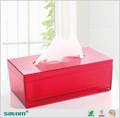 Comoda in hotel/auto/home plexiglass scatola del tessuto di copertura