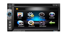 """6.2""""mp5 touch screen double din car dvd player (Without DVD Loader)"""