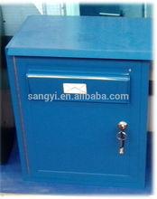 Aluminium mailbox standing mailbox