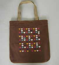 100% recyclable custom wholesale manufacturer cotton canvas tote bag (YC6688)
