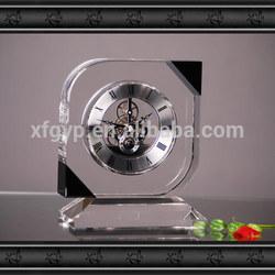 Silver Skeleton Clock