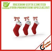 Popular Cheap Customized Brand Christmas Socks