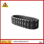 New high quality small regular harvester rubber crawler