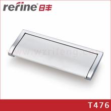 Kitchen furniture knobs for cabinet door/ hidden pull handle
