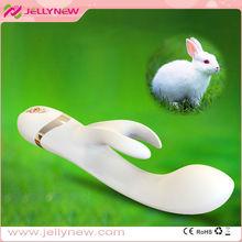 JNV010 Amazing rabbit vibrator!!! Hot selling stimulate climax rabbit vibration fro women