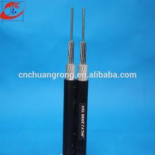 High voltage Aluminum overhead pvc insulation cable (JKLV)