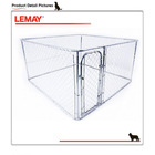 2014 wholesale metal retacgular car pet carrier dog cage