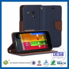 C&T Sublimation genuine leather Case Cover for Motorola Moto G X1032
