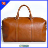 2014 High Quality Europe Style Cowhide Leather Travel Bag