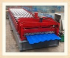 hot sale full automatic arch New condition glazed roof panel/step tile cold bending roll forming machine/production line