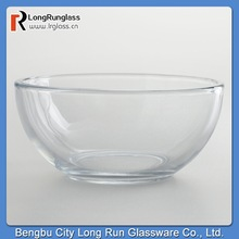 LongRun Classical Clear Moderno Bowls Standard Size Glass Dinnerware Made in China