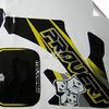 0.4mm 2628 water proof vinyl racing decals