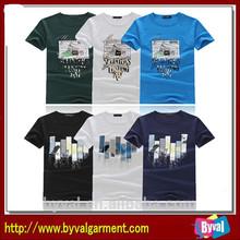 New Arrival Custom Men's Organic T-shirt