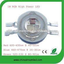 High power led Taiwan chip 3w 4pin rgb led 4-pin rgb power led diode