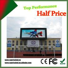 Waterproof long lifespan LED display board,p8 p10 p16 rental led display screen with high resolution effect