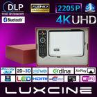 2014 Multimedia Portable HD Home Theater Projectors Bluray 3D 2205P Projector DLNA Control
