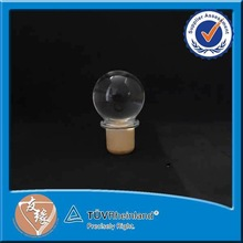 Round polymer composites cap for perfume bottle