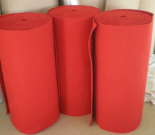 red needle polyester felt