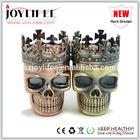 2014 E cig Metal skull cigarettes Grinder wholesale price