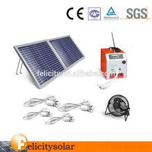 smaller portable solar generator withSolar Light Type and IP44 Protection Level mini solar animal garden lighting