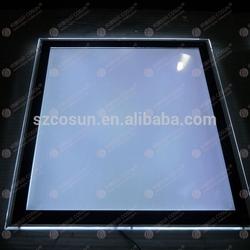 led light frame, led light poster/acrylic sheet poster frame