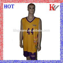 new design cheap kids basketball jersey /basketball uniform /basketball team set wear