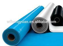 bule/grey/blacksheet/swimming pool pvc liner/waterproof sheet material/membrane sheet
