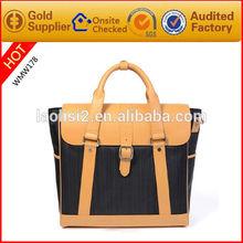 fashion men handbag for business man branded bag handbags