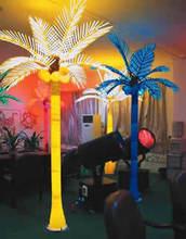 Palm tree with led lights