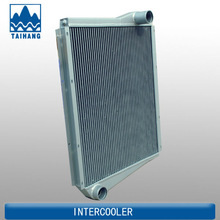 Best quality water to air intercooler for bus,aluminum intercooler,water to air heat exchanger radiator