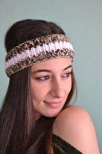 Thin Knitted Headband Stylish Headband with Sequins