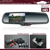 high definition car dvr rear view mirror with 4.3 inch monitor and parking camera