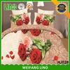 100% polyester kids bulk bed sheets/bed sheet set/patch work bed sheet