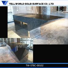 hot sale modern cheap glossy new design nightclub bar counter wine bar counter, acrylic solid surface