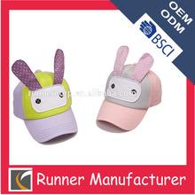 Baby cute baseball cap , rabbit cap and hat