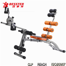 BEST JS-060SB SIX PACK CARE PRO legs for bench multi home gym equipment sit up exercise equipment