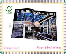 Custom LOGO Company products Manual Catalog/Catalogue Printed ; Glossy/Matt Film Lamintion Booklet/Bruchure/ Magazines