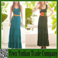Muslim Long Dress Chiffon Cocktail Dress for Fat Women